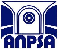 1er logo de l'ANPSA représentant une fenêtre avec ses volets qui s'ouvre sur un soleil avec l'acronyme ANPSA en dessous. C'était pour signifier l'ouverture sur le monde.